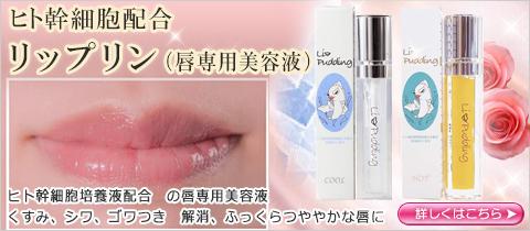 ヒト幹細胞配合 リップリン(唇専用美容液)
